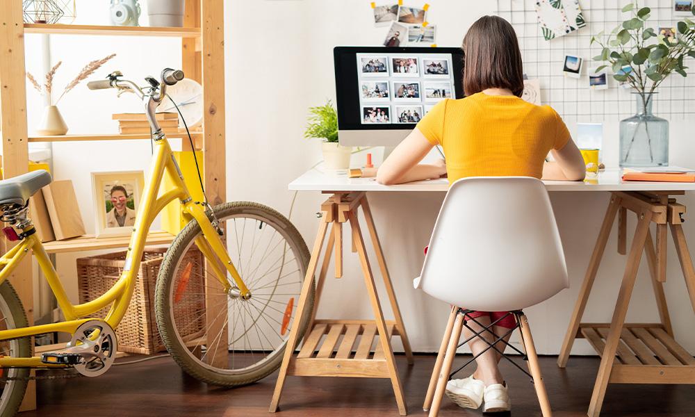 Criando um espaço organizado de home office