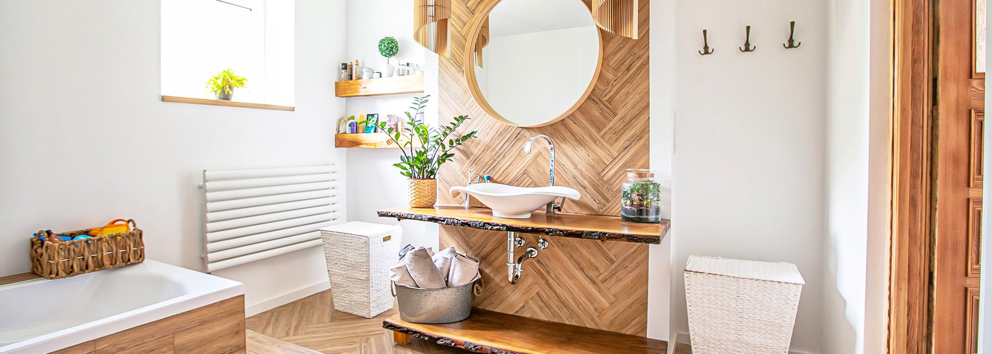 5 ideias para reformar o banheiro da sua casa sem precisar quebrar os azulejos e revestimentos