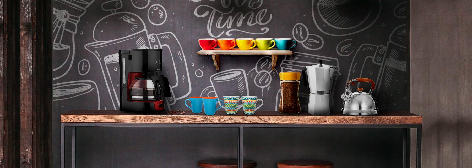 Que tal ter um cantinho do café na sua casa?