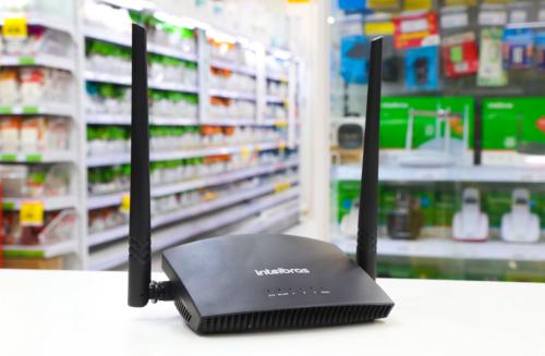Roteador Wi-fi 300Mbps 4P Intelbras