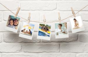 Faça um varal de fotos para decorar a sua casa