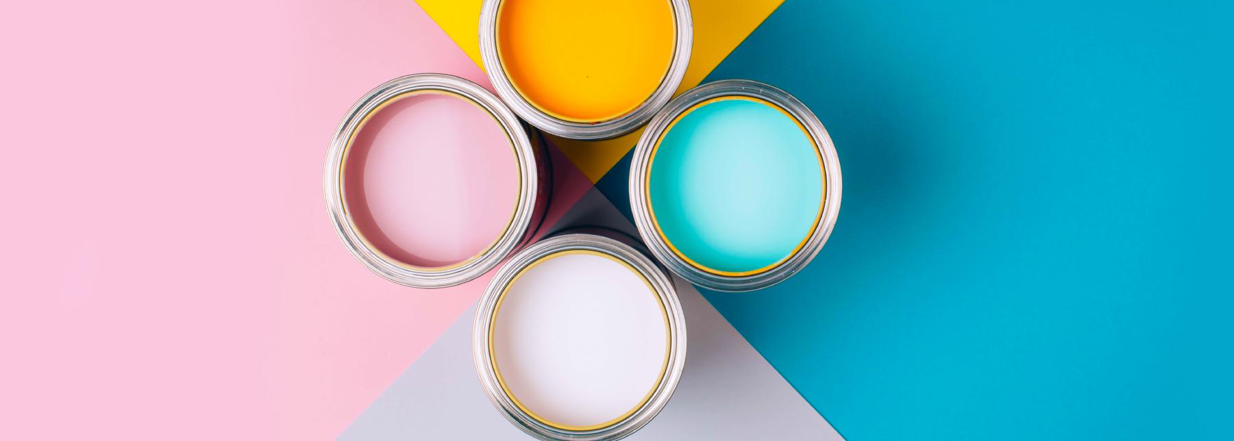 Aprenda a escolher a tinta certa para pintar a sua casa