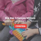 Dia das crianças Milium: Tem de Tudo para a alegria da Criançada